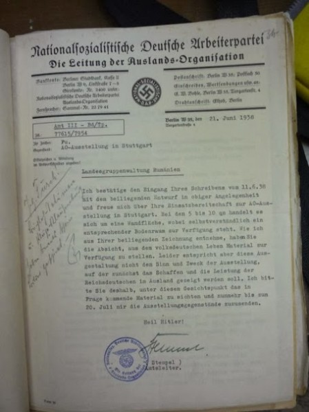 Document al Grupului Etnic German - Forumul Democrat - Klaus Iohannis