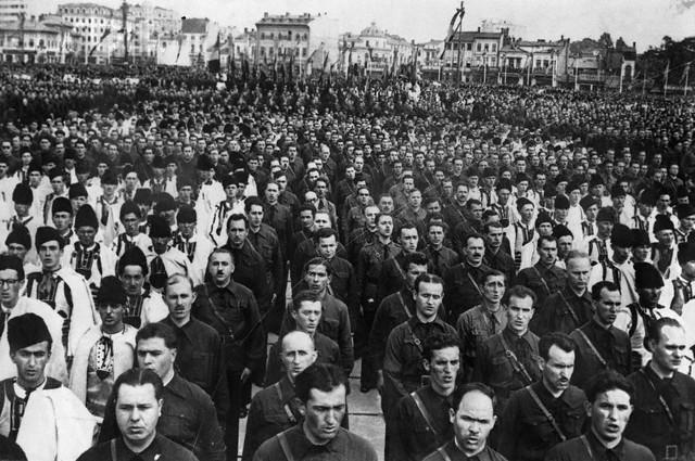 Romanian Fascist Demonstration