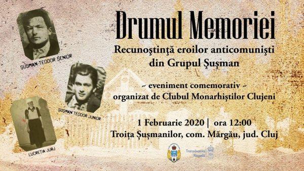 Eveniment Memorial Dedicat Grupului Șușman