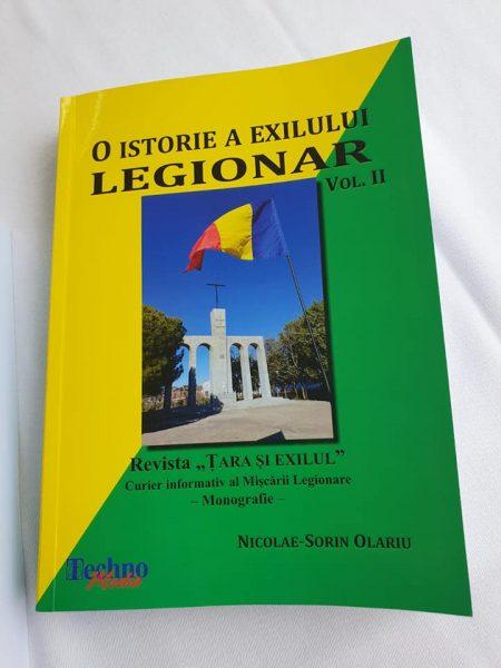 "O istorie a exilului Legionar"""